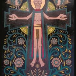 Разпятие- картина от Евгени Йонов
