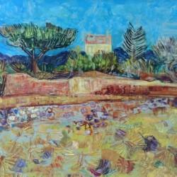 Давид Перец- Пейзаж от Прованс