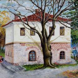 Димитър ВЕЦИН -Къщата на художниците- 50x70cm
