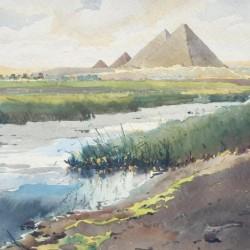 """Константин Щъркелов, """"Пирамиди"""", 1926 г."""