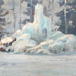 """Константин Щъркелов, """"Зима"""", 1914 г."""