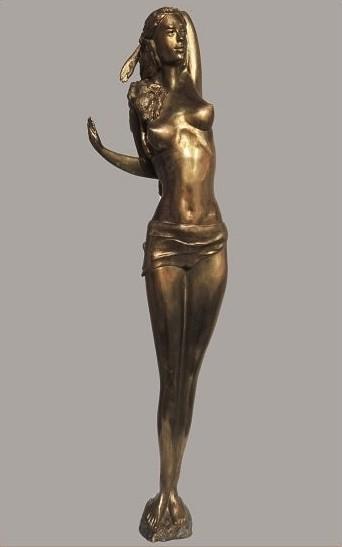 Надя Антова - изложба скулптура
