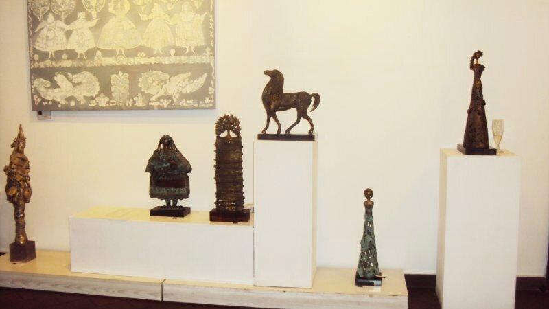 Izlozhba na Rumiana Rusinova v galeria Natali