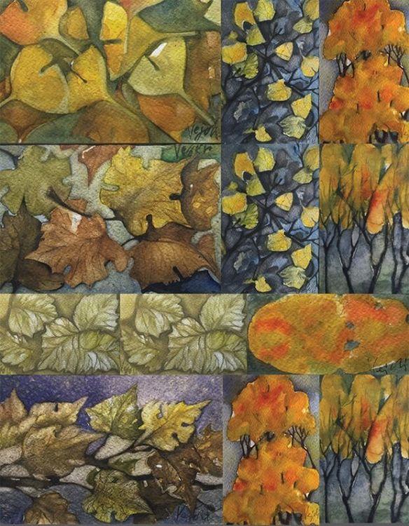 Vezhdi Rashidov-akvareli