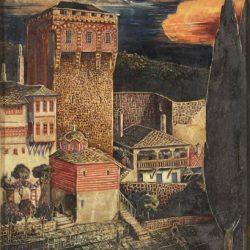 Лавренов- Хилендарският манастир 1936