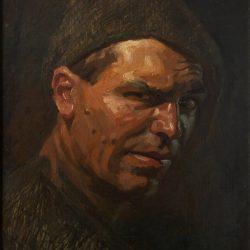 Автопортрет, Канада, около 1927
