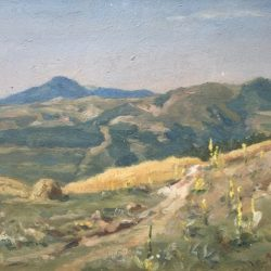 Борис Данков, Планински пейзаж, 50-те г. на ХХ в.