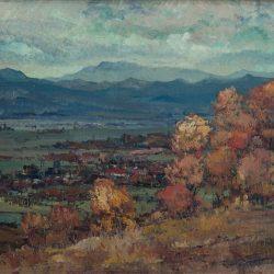 Иван Тричков, Есенен пейзаж, 1946 г.