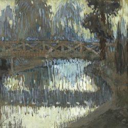 Георги Велчев - Парк Монсо, Париж, 1920
