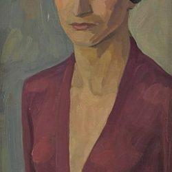 Вера-Недкова-Автопортрет-около-1928