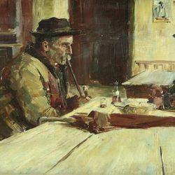 Отон Ивекович - В кръчмата, преди 1906
