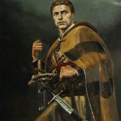 Васил Горанов - портрет на Васил Левски