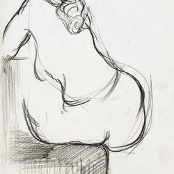 Величко Минеков-Рисунка, молив, хартия