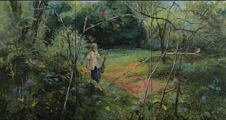Алисия Санча-картина