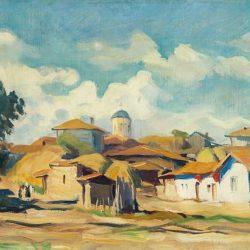 """Борис Денев - """"Пейзаж"""", 30-те г. на ХХ в."""