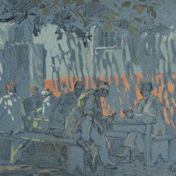 Георги Железаров - На кафе под сянката, 1928