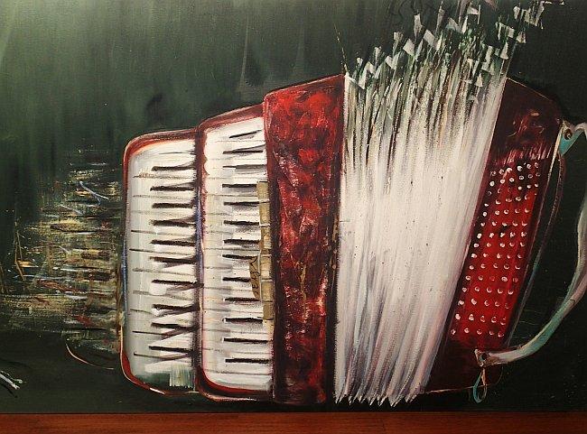 Греди Асса - картина от изложба в Ракиурси 2017