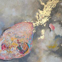 Катрин Томова -Астероид 5, 2017 г., маслени бои, платно, 150 х 210 см