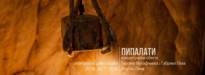 Пипалати - изложба на Гергана Мутафчиева, Габриел Пеев и Мартин Пеев