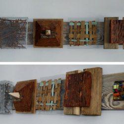 Роберт Цанев - композиция от дърво