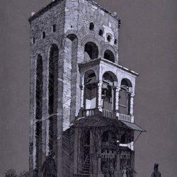 Владимир Димитров - Майстора, Хрельовата кула, 1917