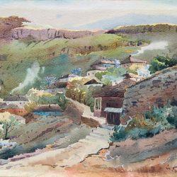 Йордан Гешев- Изглед от Стария Ловеч