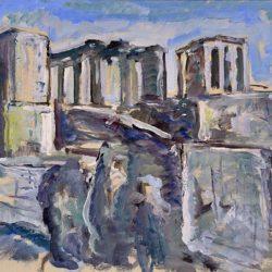 Сирак Скитник, Акропола, 1933