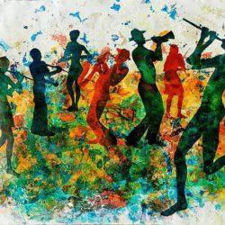 Цветелина Спиридонова - изложба Музика в цвят