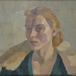 Вера Недкова - автопортрет - 1928г.