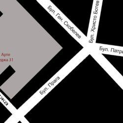 нов адрес на галерия Арте - ул.Бузлуджа 31