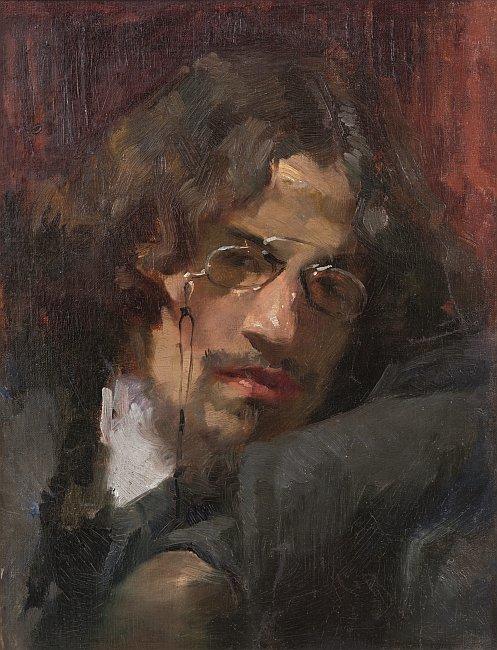 Simeon Velkov - etud-portret
