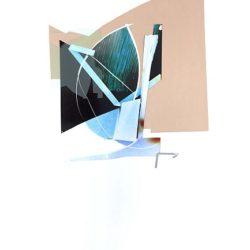 Марта Джурина - без заглавие, 2017, смесена техника, аналоговa фотография, уникат, плексиглас, латекс, вариращ