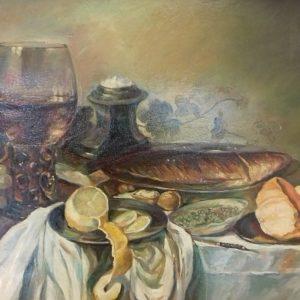 Петър Ройдов - Натюрморт с грозде - 55-75 - 500 лв
