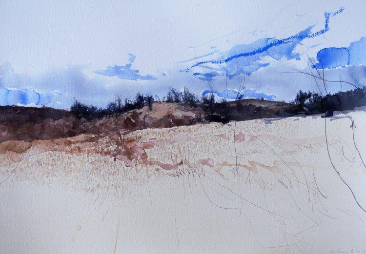 Milko Bozhkov- akvarel-2019