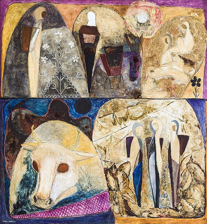Lika Yanko - Le tabac-1966-140x130cm