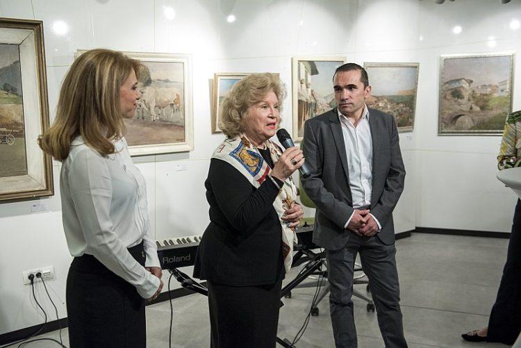 Otkrivane Izlozhba na I.Ivanov-Ivanich v BNP Paribas